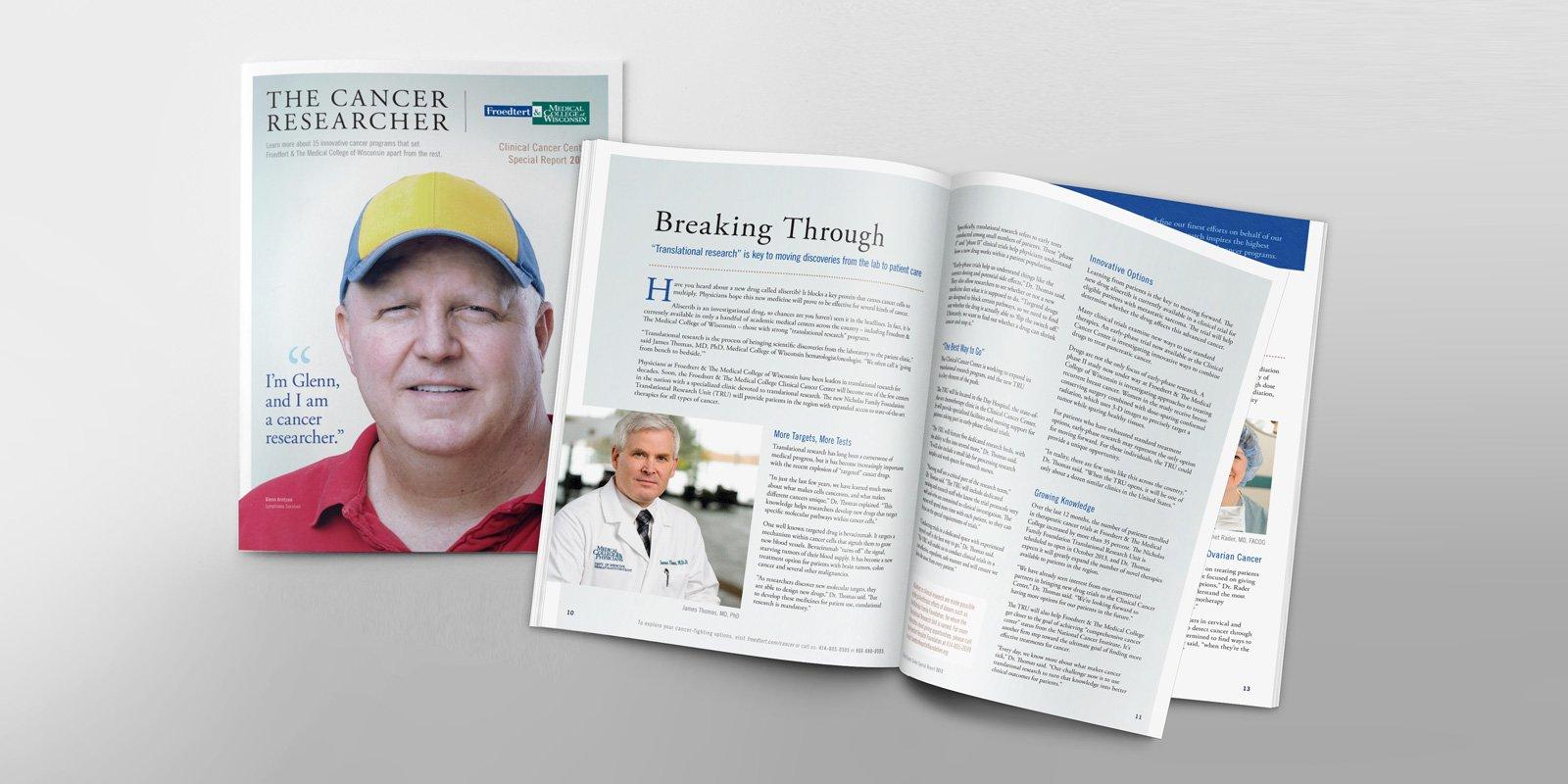 Cancer Report design